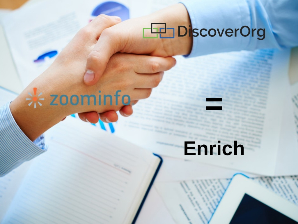 DiscoverOrg + ZoomInfo = Enrich