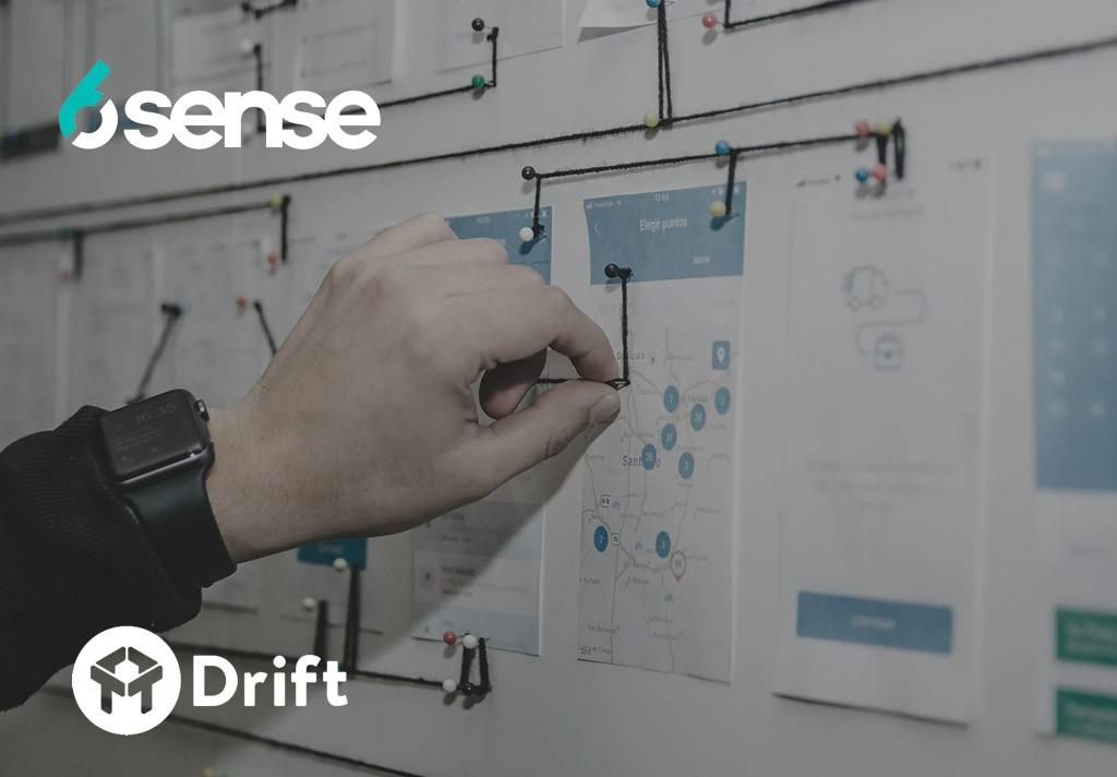 6sense integrates with drift image