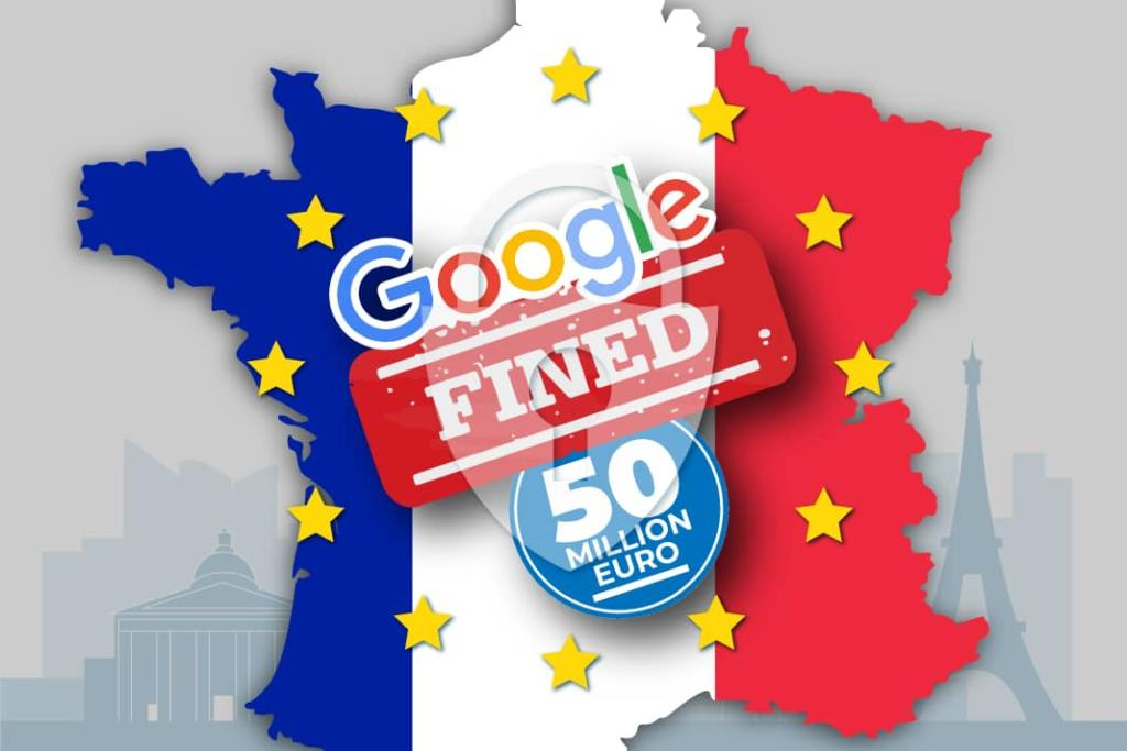 biggest GDPR fine awarded to Google